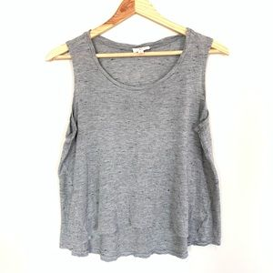Adriano Goldschmied Womens Tank Top Gray